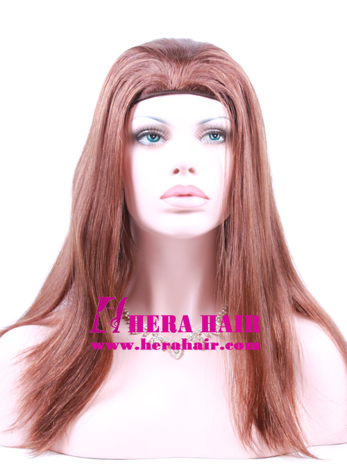 Hera 14 inches 8/10 European Hair Band Fall Sheitels Photoes