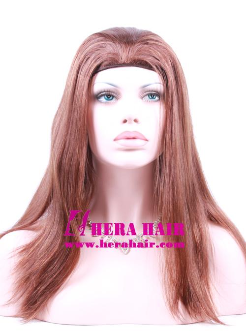 Hera 14 inches 8/10 European Hair Band Fall Sheitels Photoes