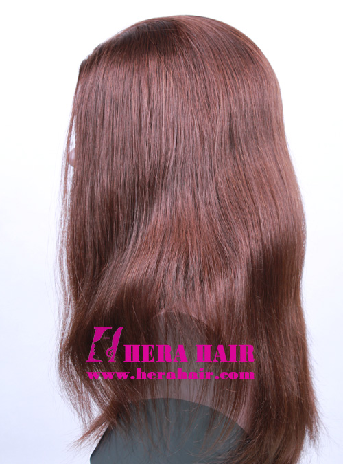 Wholesale 14 inches #6 Band Fall Kosher Women Wigs