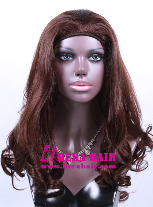 Hera 18 inches #6 Wavy Band Fall Kosher Women Wigs
