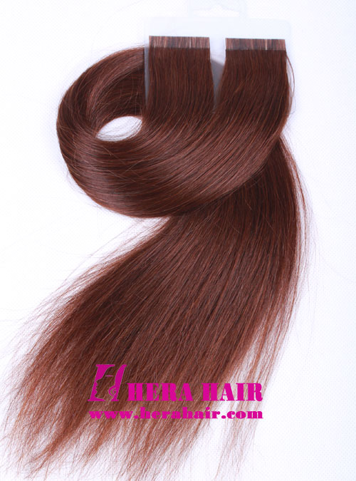 Wholesale Chinese Virgin Glue Tape In Hair Extensions