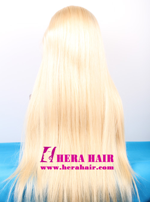 130% Hair Density 613 Blonde Full lace wigs