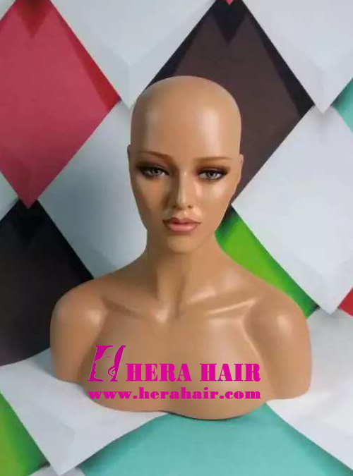 Fiberglass Female Mannequin Heads for Wigs HMZ03
