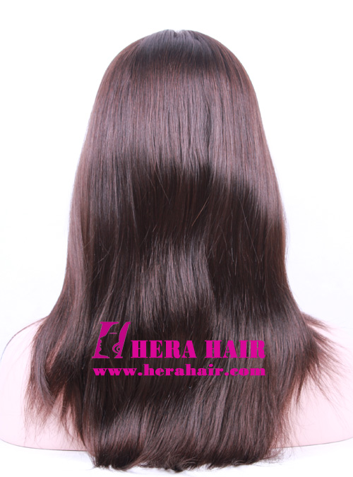 Hera 14 inches #4 European Hair Kosher Women Wigs Back Picture