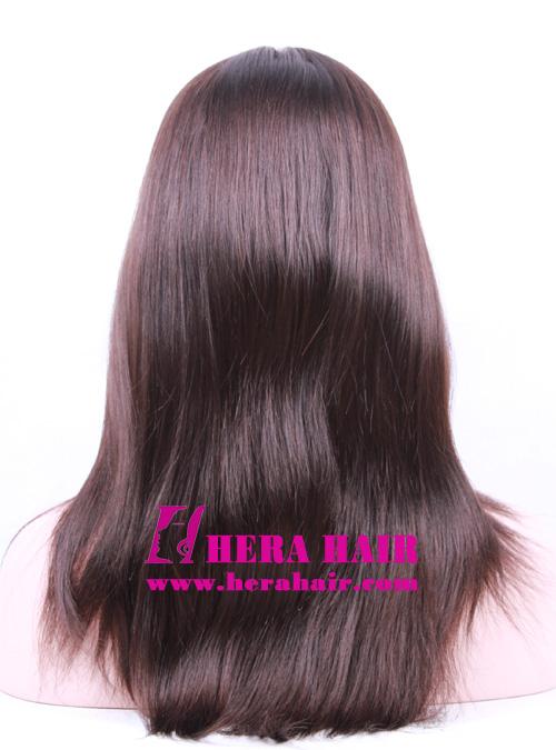 Hera 14 inches #4 European Hair Kosher Women Wigs Back Picture