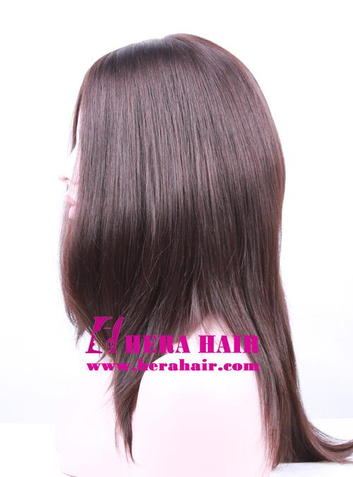 Hera 14 inches #4 European Hair Kosher Women Wigs Side Picture
