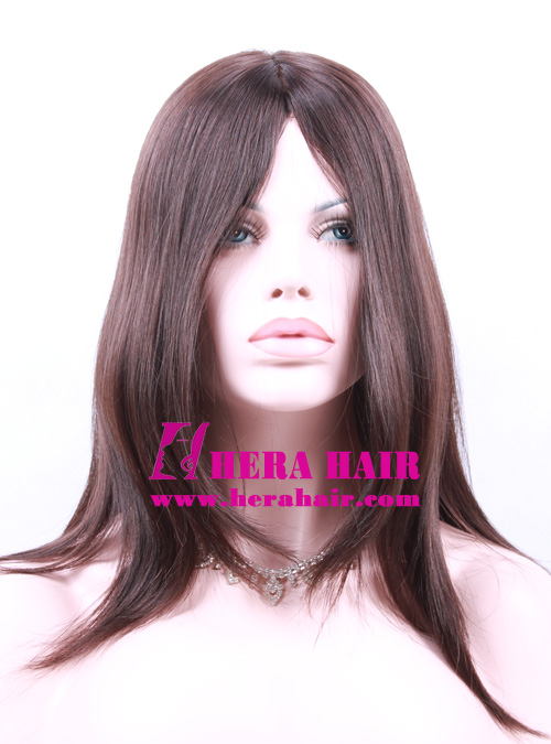 Hera 14 inches #4 European Hair Kosher Women Wigs