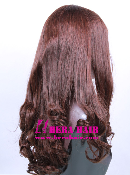 Hera 16 inches Wavy European Hair Jewish Wigs Side Photo