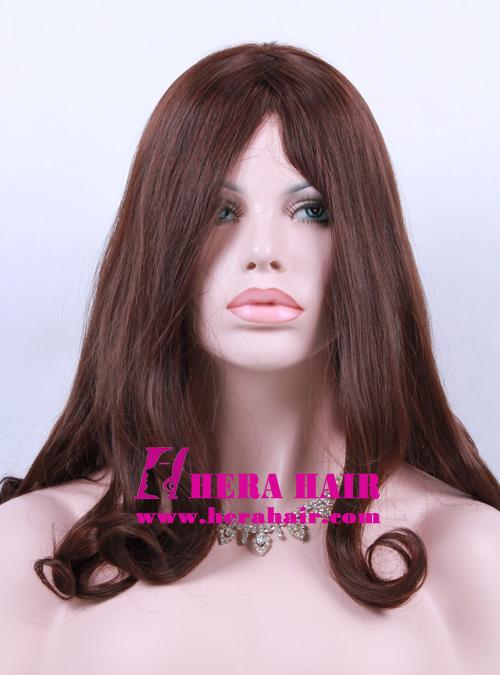 Hera 16 inches #6 Wavy European Hair Sheitels Picture