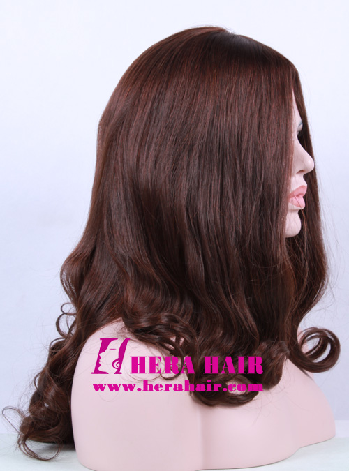 Hera 16 inches #6 Wavy European Hair Sheitels