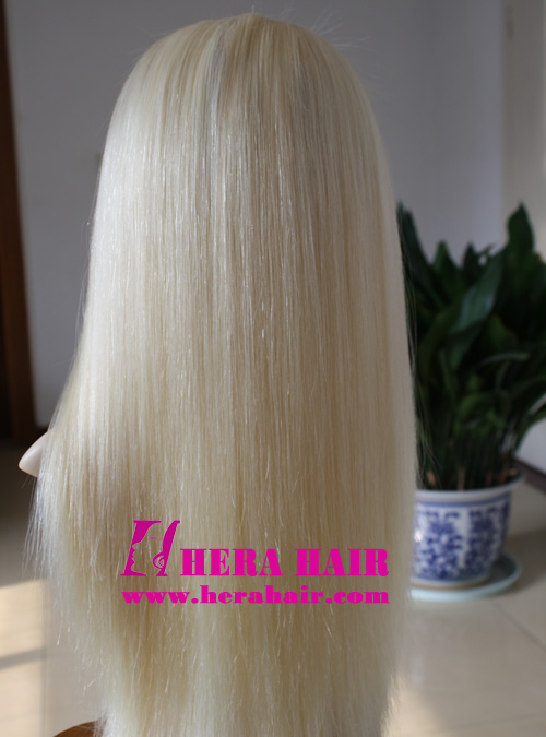 Hera Silky Straight 613 Blonde Full Lace Wigs