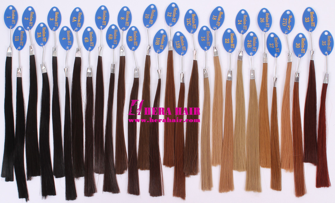 Hera Chinese Synthetic Fiber Color Chart 1