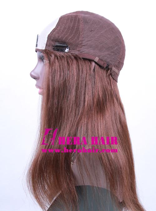 14 inches #6 Band Fall Kosher Women Wigs Cap Design