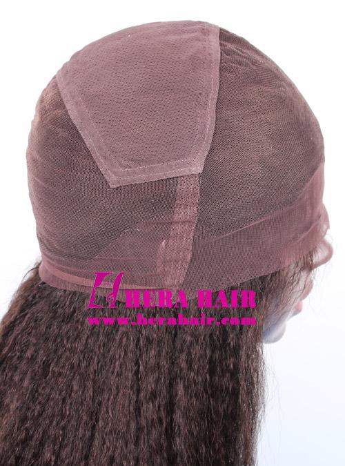 Hera dark brow lace full lace wigs cap design