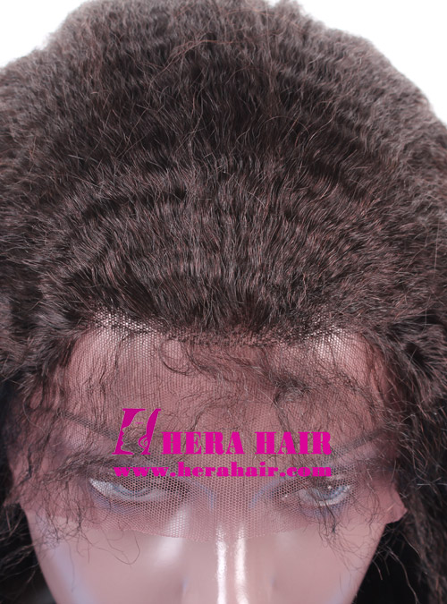 Natural Hair Line Full Lace Wigs with Baby Hair