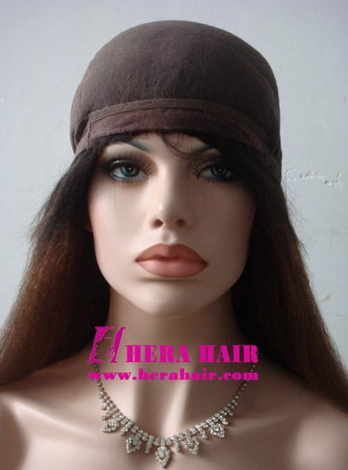 Kinky Yaki Ombre Color Glueless Full Lace Wigs