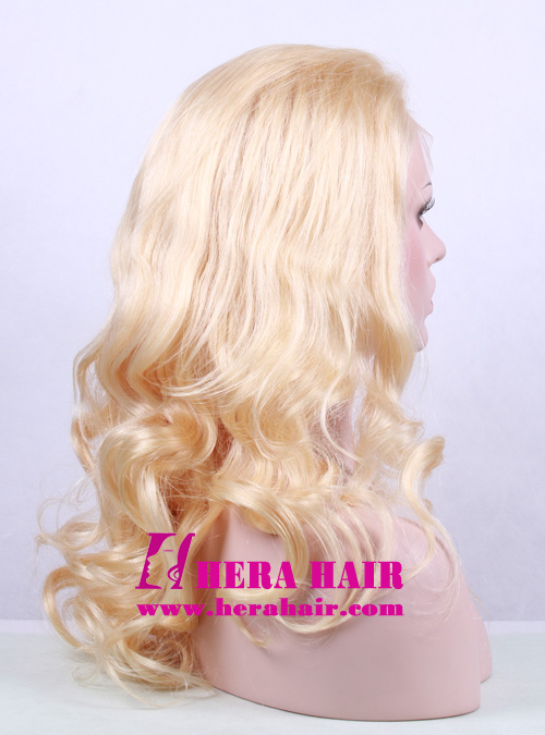 Hera 20 Inches Wavy 613 Blond Full Lace Wigs