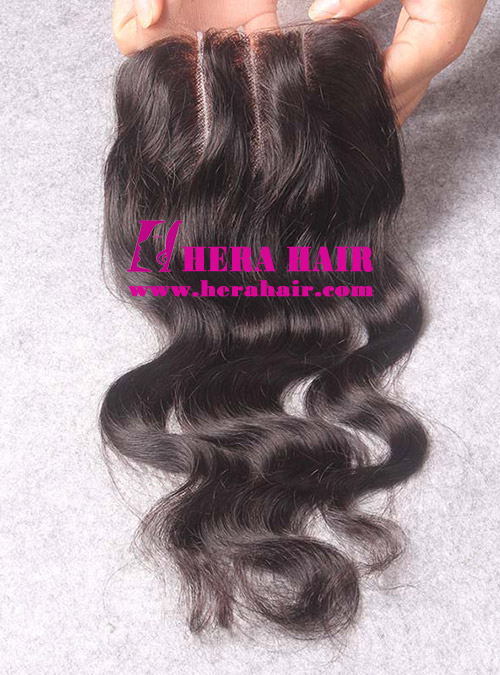 Hera Wavy Brazilian Virgin Remy Hair 3 Part Lace Closures