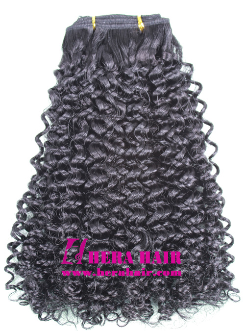 Machined Hair Weave Extensions