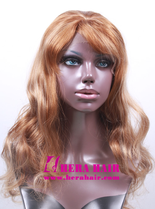 Highlight Synthetic Lace Front Wigs with Bang