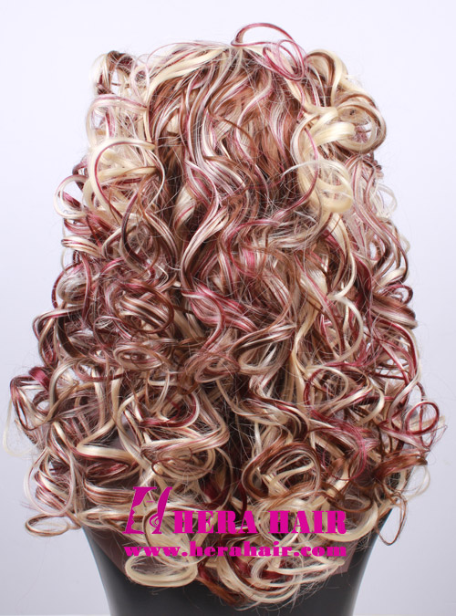 Curly Piano 3 Color Synthetic Lace Front Wigs
