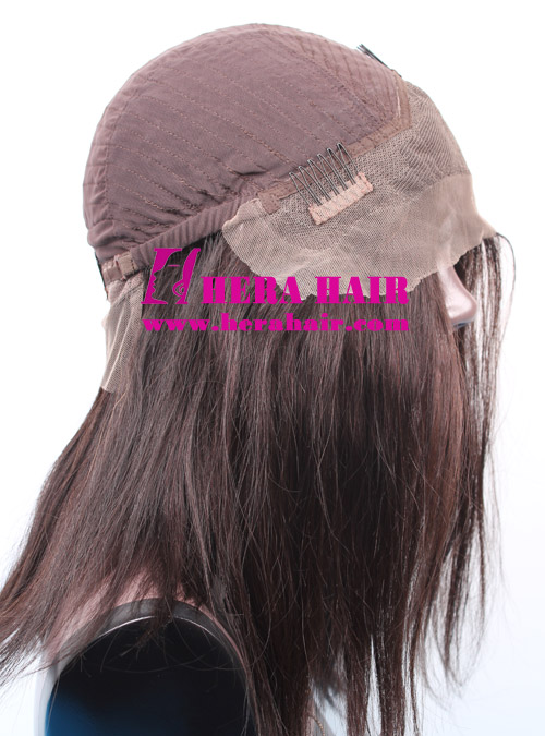 Custom 150% hair density Indian remy Hair Lace Front Wigs