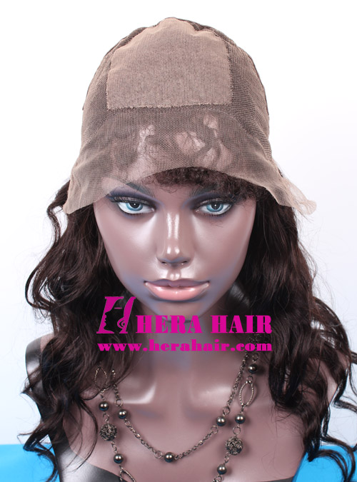Hera custom silk top Brazilian full lace wigs