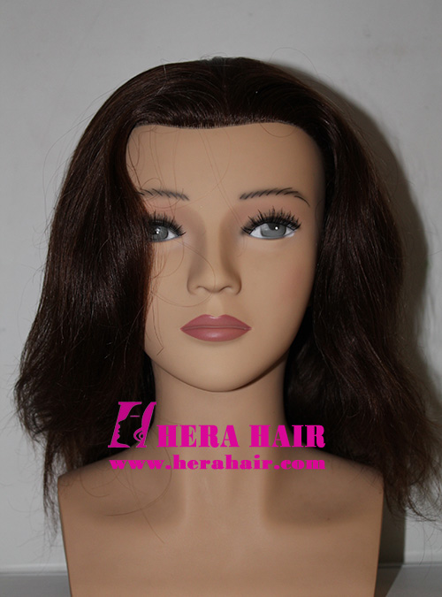Human Hair Female Hairdressing Teaching Heads