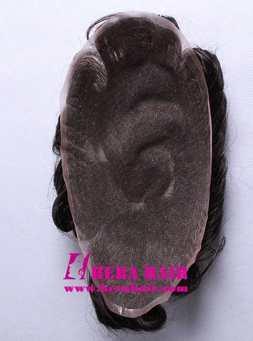 Full Lace Cap Mens Toupees HHT5