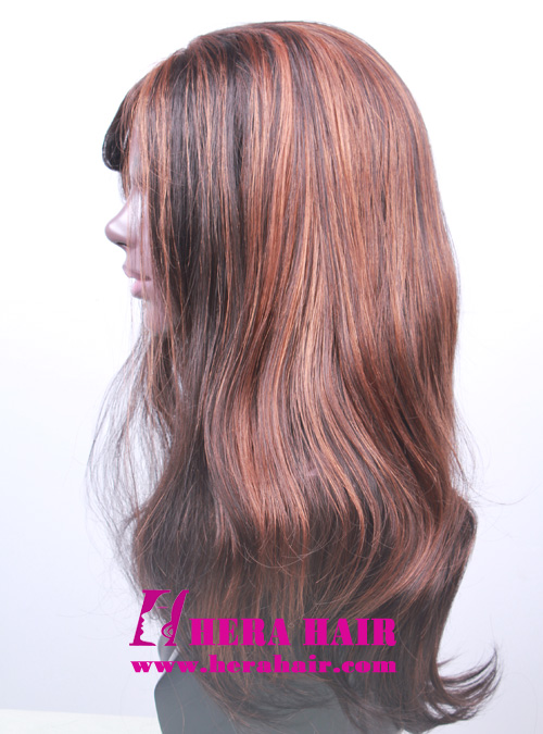 Hera Mixed Color Synthetic Lace Front Wigs