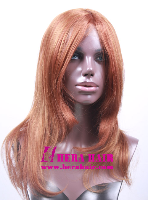 Straight Mixed Color Synthetic Lace Front Wigs