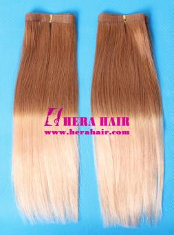 Hera Straight Two Tone Ombre European Tape In Hair Extensions