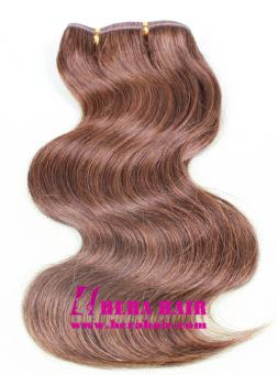 12 inches Body Wave 2 mix 6 Machined Brazilian Hair Wefts