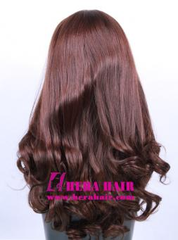 Hera 16 inches Wavy European Hair Jewish Wigs Back Photo
