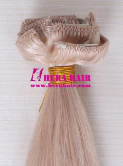 18 inches #16 Brazilian Clip In Hair Extensions