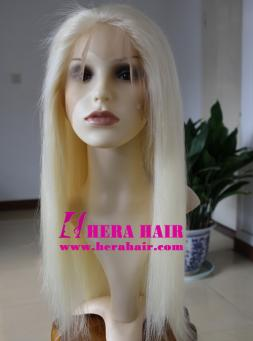 18 inches Straight 613 Blonde Full Lace Wigs