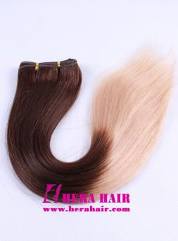Hera 18 Inches T3/27 Two Tone Machined Brazilian Hair Weaves