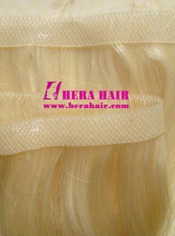 Blonde European Handtied Skin Weft Tape Hair Extensions