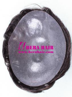 Hera Full PU Cap Design Mens Toupees HHT2