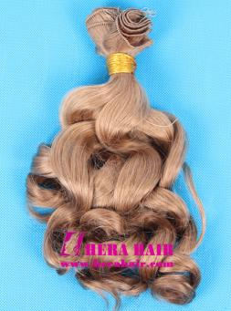 Curly Mongolian Virgin Remy Hand Tied Hair Weave
