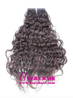 Wholesale cheap remy human hair seamless skin weft tape in hair curly chinese virgin cuticle hair tape in hair extensions pmusecretfo Image collections