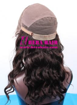 Hera custom adjustable cap Brazilian full lace wigs