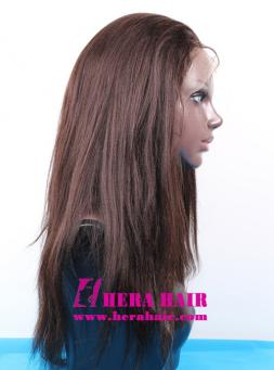 Hera Custom 16 inches Yaki Indian Remy Hair Full Lace Wigs