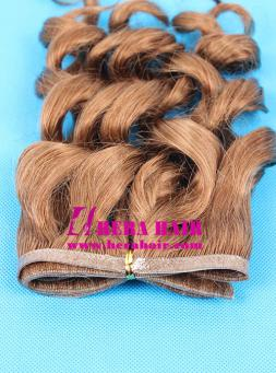 Handtied Indian Virgin Skin Weft Tape Hair Extensions