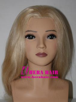 Human Hair Female Hairdressing Training Heads