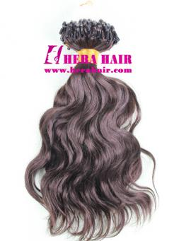 Wavy Indian Virgin Micro Ring Hair Extensions